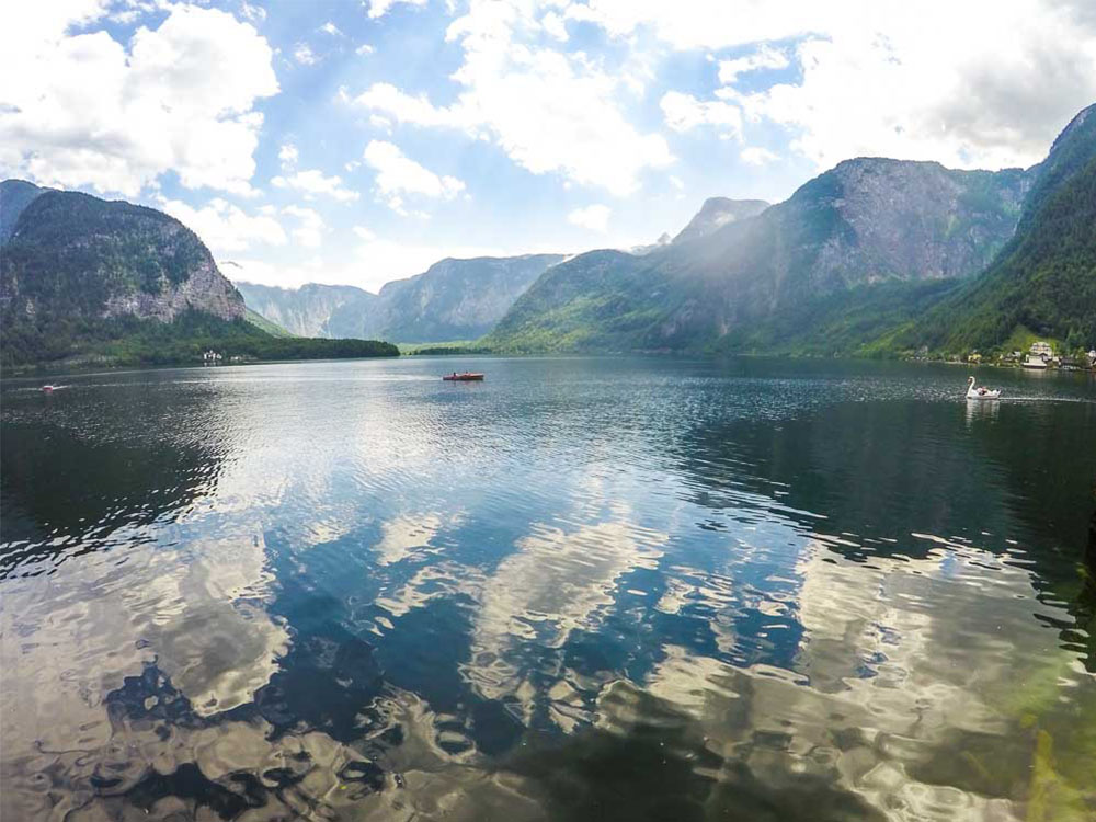 lake in austria